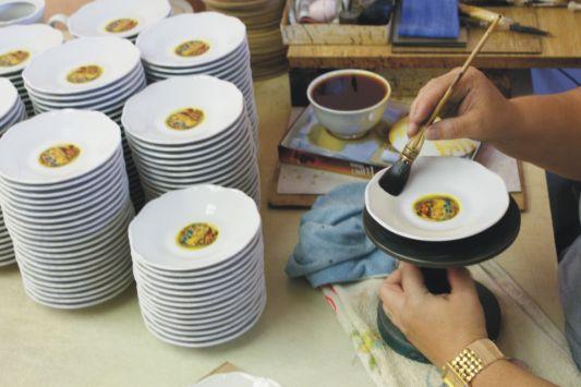 Starorolský porcelán karlovy vary